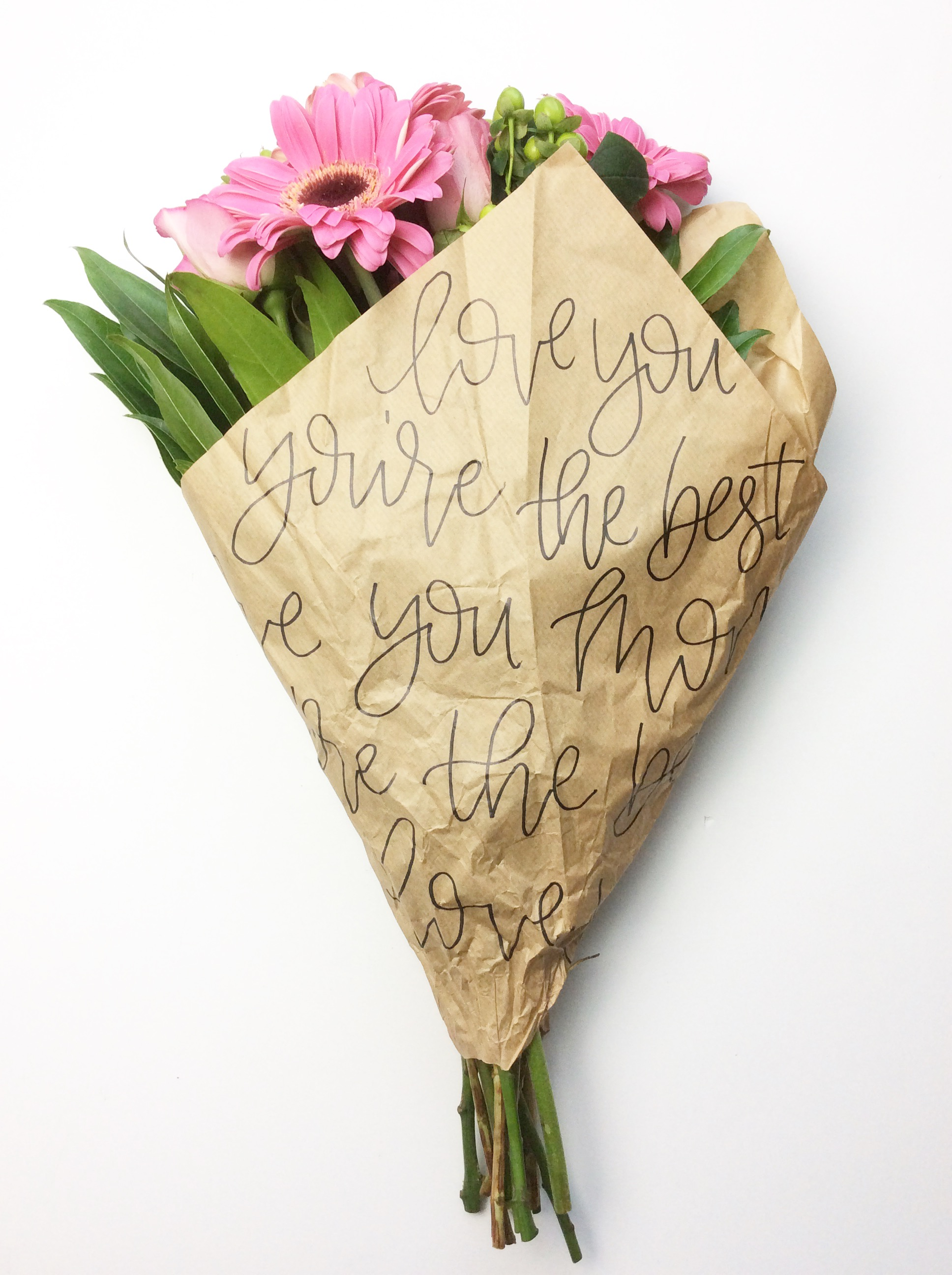Diy Mother S Day Flower Wrapping Amanda Kammarada