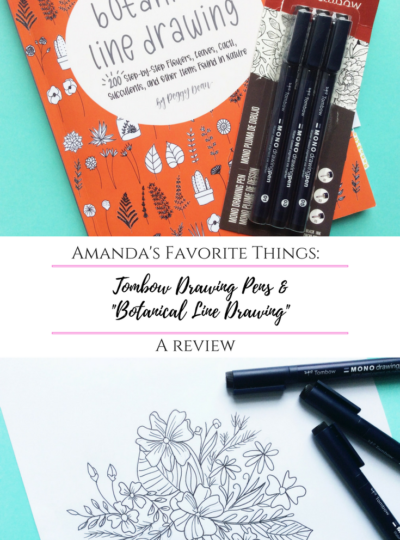 """Tombow MONO Drawing Pens & """"Botanical Line Drawing"""": A Review"""