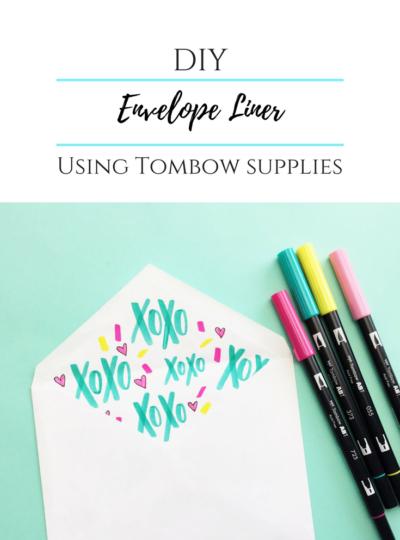 DIY Envelope Liner