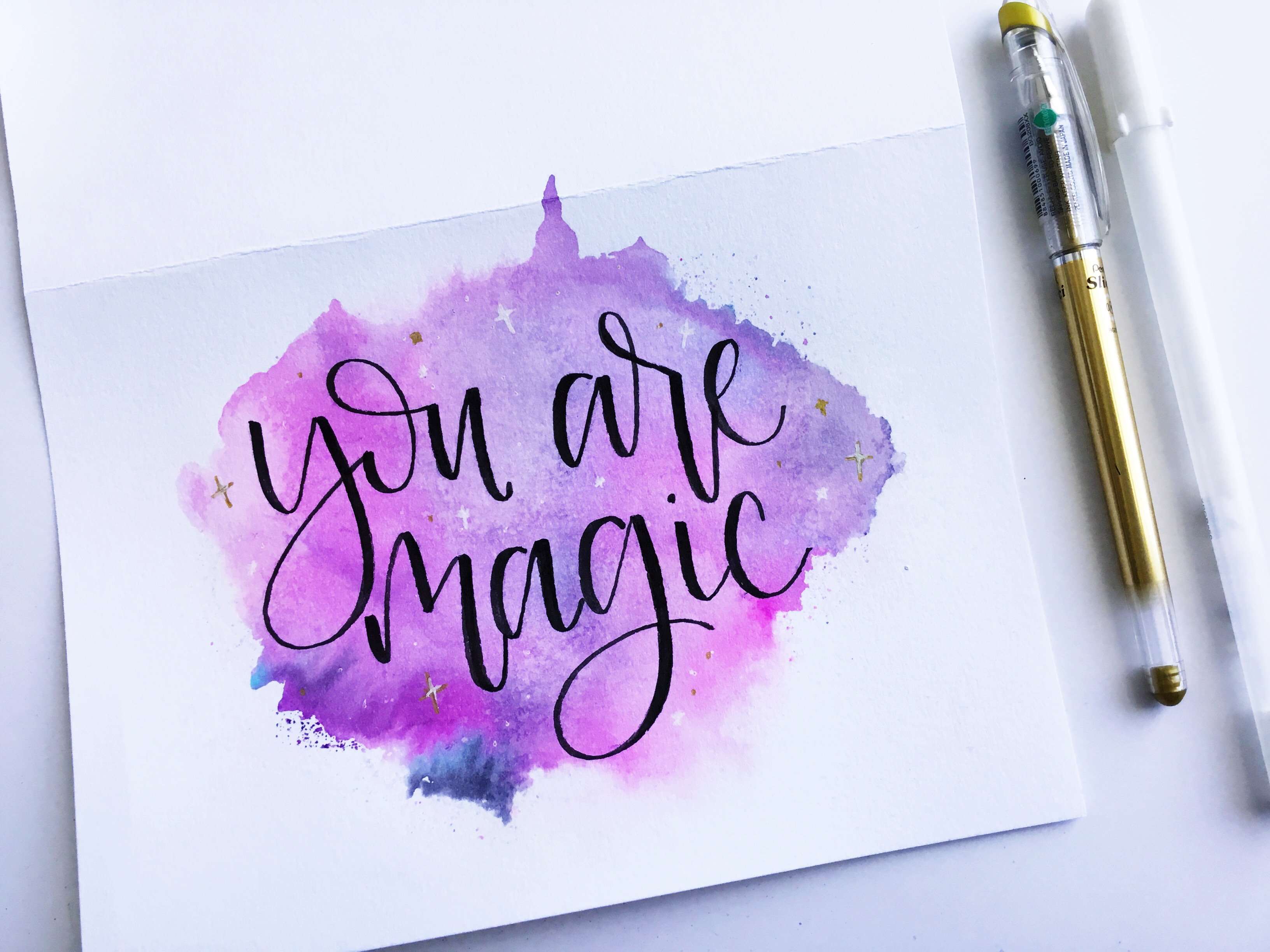 Galaxy greeting card write a special note inside and mail it off to someone special kristyandbryce Images