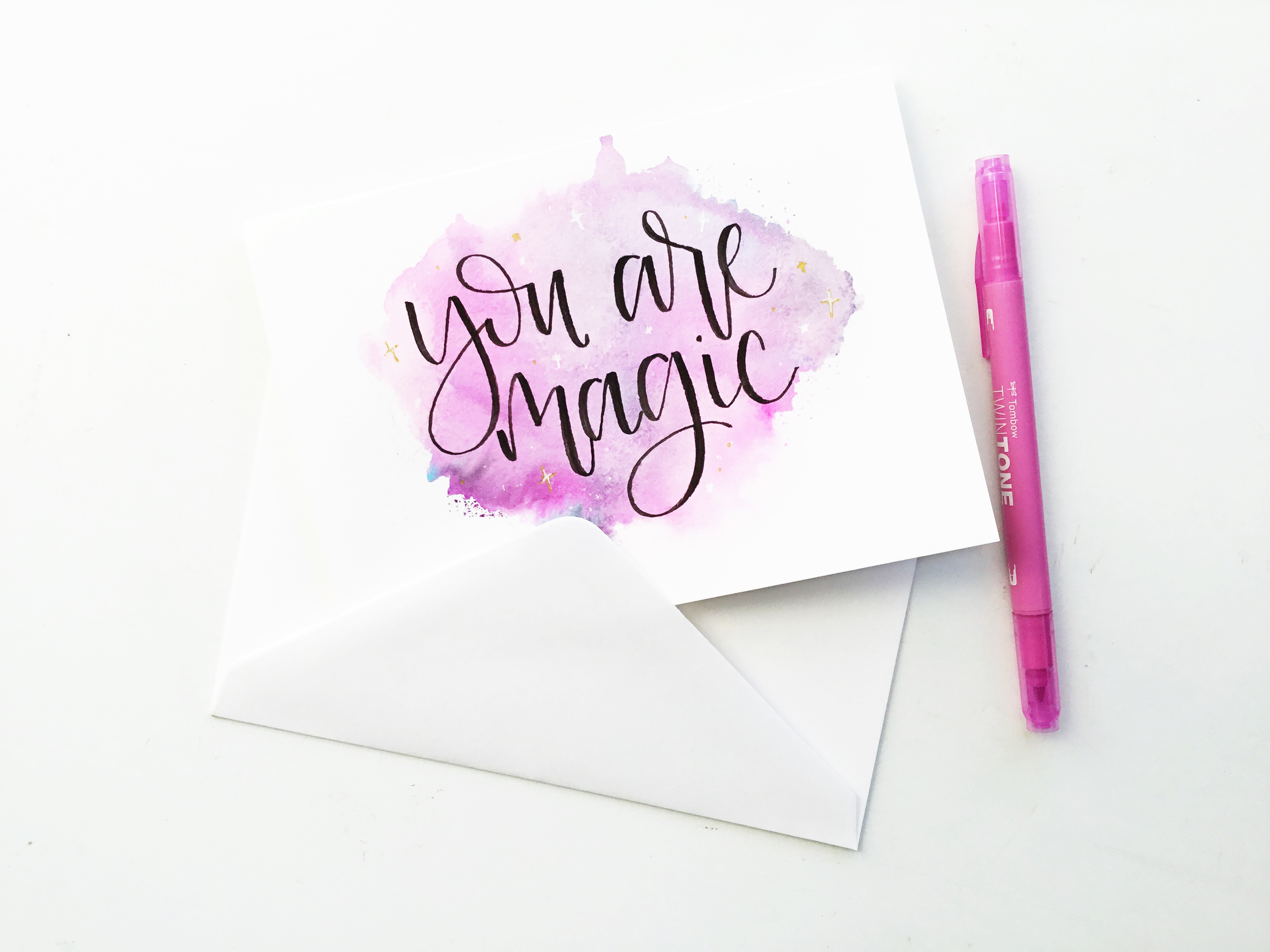 Galaxy greeting card to show you how to make a beautiful magical card to send to someone you love because we all know we could use a little love and kindness to brighten kristyandbryce Image collections